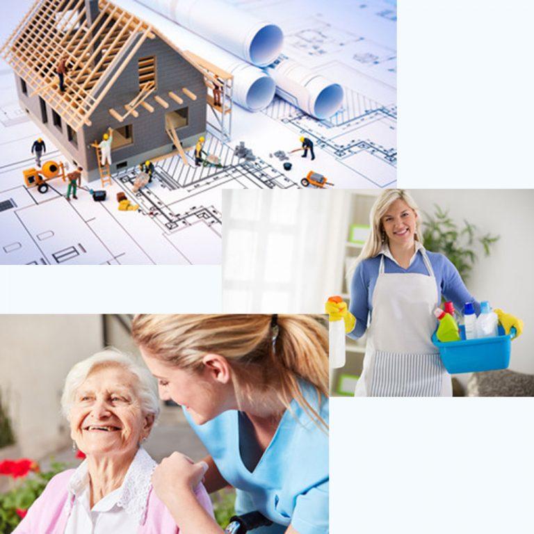 encuentra la empresa de reformas o servicio doméstico para el hogar en Madrid Tentable